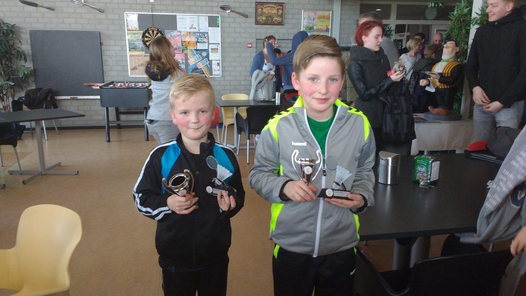 Verslag van het jeugd badmintontoernooi in Sneek